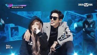 (中字) HEIZE - Don't Make Money 不要賺錢了 (Feat. Chanyeol) @151106 Unpretty Rapstar 2