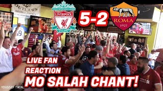 American Fans Love Mo Salah - LIVE Reaction Liverpool 5-2 Roma