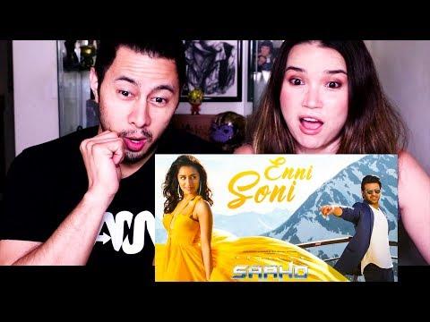 SAAHO: ENNI SONI SONG | Prabhas | Shraddha Kapoor | Guru Randhawa | Tulsi Kumar | Reaction!