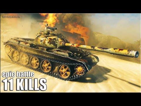Статист показал как играть на Type 59 ? 11 фрагов ? World of Tanks лучший бой на прем ст 8 уровня thumbnail