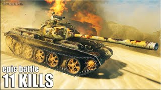 Статист показал как играть на Type 59 🌟 11 фрагов 🌟 World of Tanks лучший бой на прем ст 8 уровня