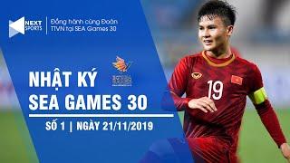 Nhật ký SEA Games 30 ngày 21/11 | Quang Hải đeo băng đội trưởng, U22 Việt Nam khoe bụng 6 múi