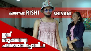 Rishi & Shivani | Prank Challenge On Each Other | Odukkatha Challenge