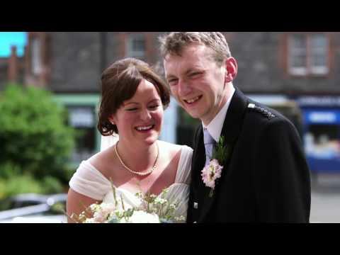 St. Patricks Church / Eskmills Venue wedding video - Bex & James