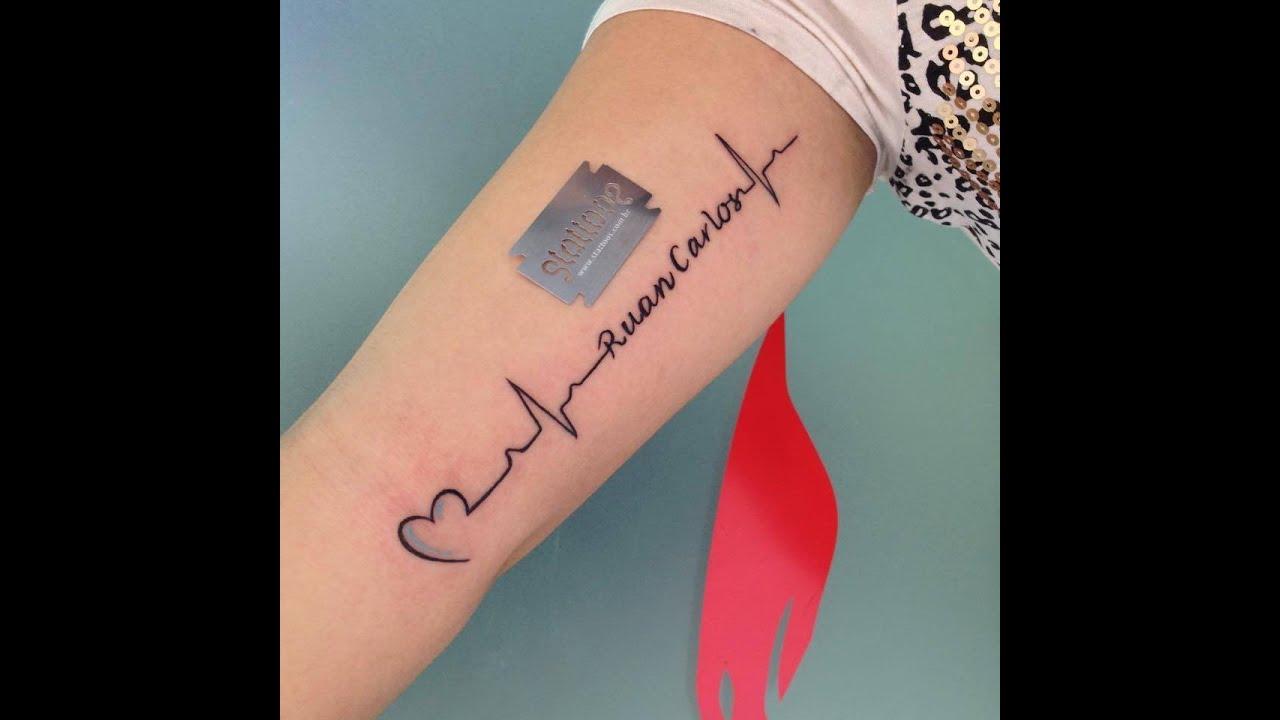 Tatuagem De Batimento Cardiaco