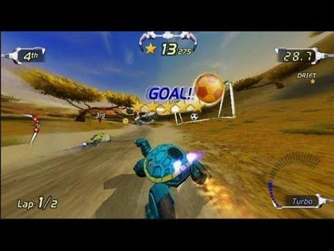 Excite Bots Trick Racing / Nintendo Wii Racing Games / Gameplay Video
