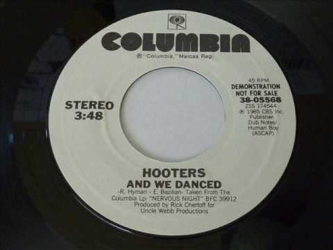 Hooters - And We Danced  45rpm