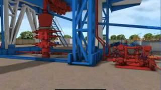 勝利油田鑽井模擬沈浸式系統