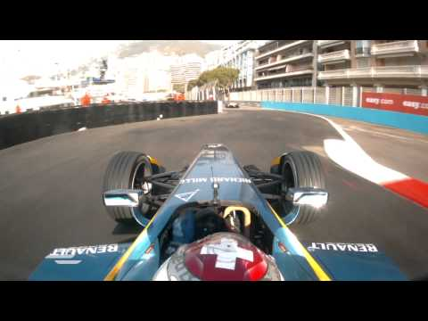 Onboard lap of the Monaco Circuit - Formula E