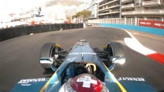 Onboard lap of the Monaco Circuit - Formula E