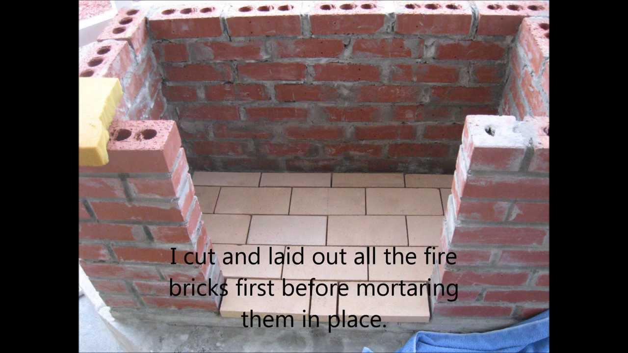 How To Build An Outdoor Fireplace YouTube