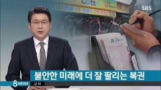 SBS 8뉴스 477회 1등 당첨자 출연