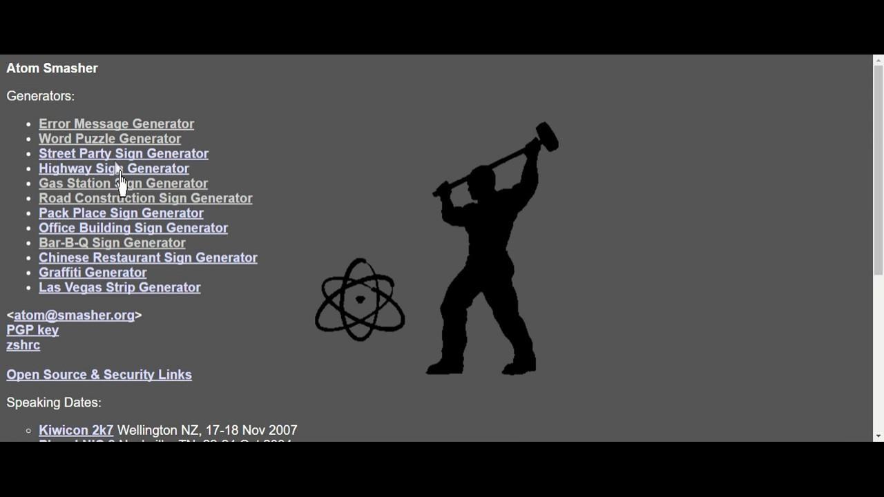 CREATING CUSTOM ERRORS!? | Atom Smasher