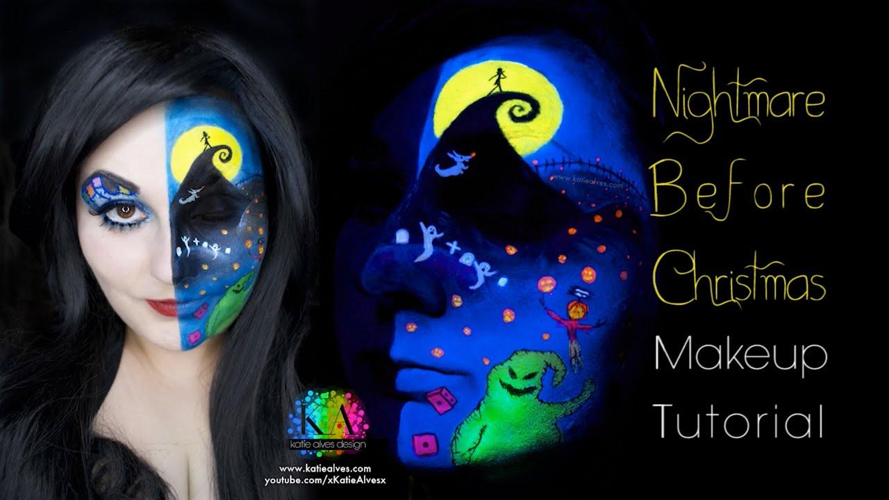 Nightmare Before Christmas Black Light Scene - YouTube