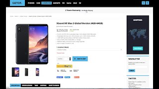 The fraud of GIZTOP store