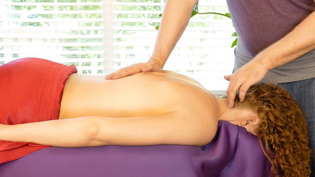 Секс на массаже в hd