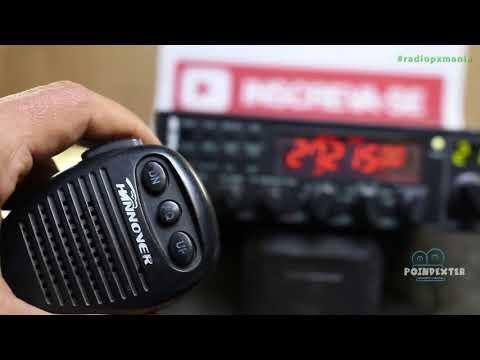 Medir estacionária no Radio Px   Hannover BR9000