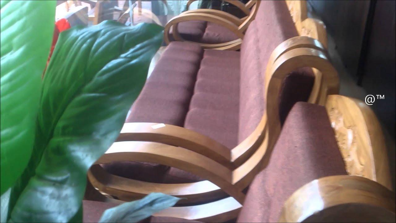 Teak Wood Sofa Set for Home