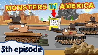 """Monsters In America Episode 5 Southern Battle"" -  Cartoons about tanks"