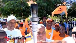 Videoclip Antorcha Juegos Nacionales 2018 Recorrido Pedernales