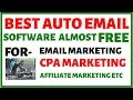 Email Autoresponder - send Unlimited mails daily | Mailing Boss v/s AWeber