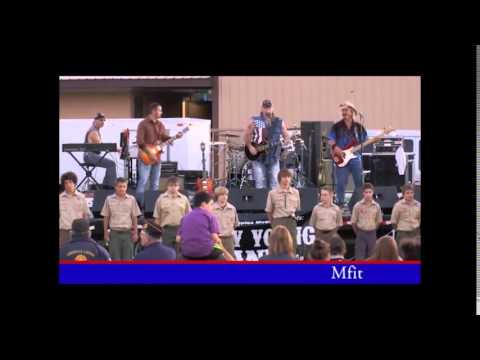 "Kenny Young Band Performing ""Some Gave All"""
