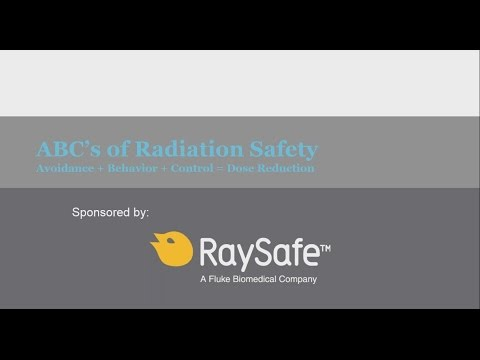 ABCs of Radiation Safety: Avoidance + Behavior + Control = Dose Reduction