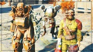 Fallout 4 GAMEPLAY Walkthrough Part 1 - Fallout 4 PS4 gameplay review!