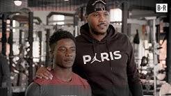 Carmelo Anthony Surprises Gun Violence Survivor Whose Brother Saved Lives (B/Real)