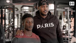 Carmelo Anthony Surprises Gun Violence Survivor Whose Brother Saved Lives (B/Real)