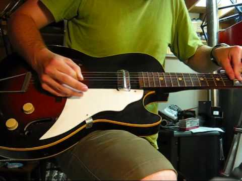 Vintage 1960's KAY SD DEMON Electric Guitar AIRLINE - YouTube on
