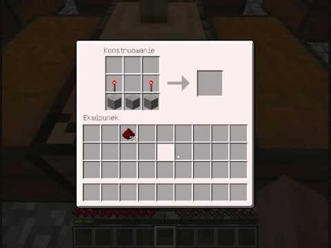 Minecraft Poradnik Crafting