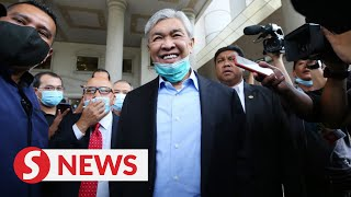 """Zahid: Najib Told Me Guilty Verdict """"not The End Of The World"""""""