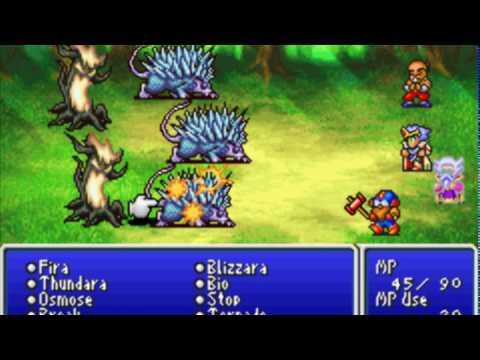 [GBA] Final Fantasy IV Advance (part 8 - Earth Crystal)