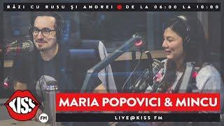 Maria Popovici și Mincu LIVE | Râzi cu Rusu și Andrei