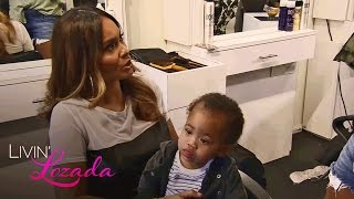 Can Evelyn Lozada Go Through With Her Son's First Haircut? | Livin' Lozada | Oprah Winfrey Network