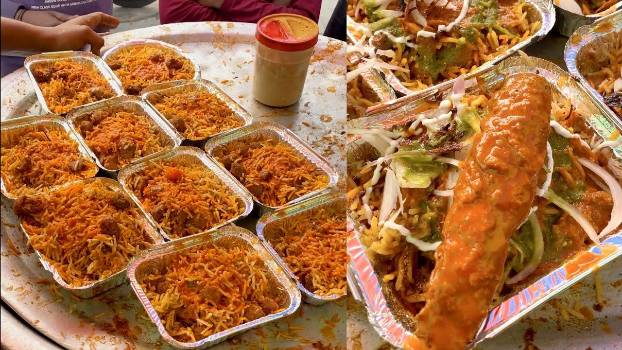 This is Pure Veg. Biriyani ! Indian Street Food #Shorts