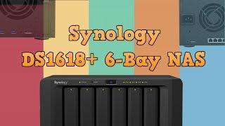 Synology DiskStation NAS DS1618+ 6-Bay, 4x 1GbE, PCIe (4GB RAM)