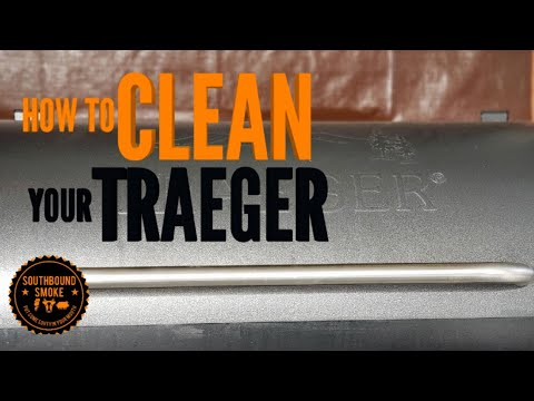 HOW TO CLEAN YOUR TRAEGER PELLET GRILL