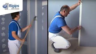 Jak a čím chránit rohy a kouty sádrokartonových konstrukcí