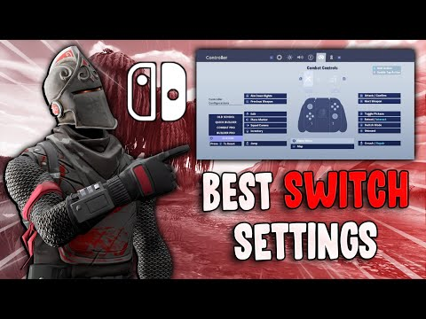 Fortnite Nintendo Switch Season X Settings/ Keybinds (Wiikstrom's Settings)