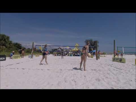 Women's Beach Volleyball | Semifinal Two | Siesta Key, FL