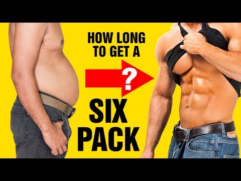 🔥🔥 How Long Does It Take to Get  Six Pack Abs? Use This Formula To Find Out