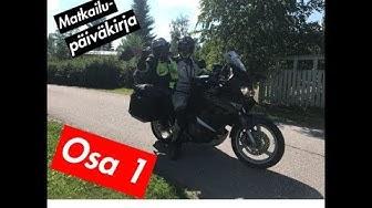 Matkailupäiväkirja - Osa 1 (Tallinna-Kaunas VIRO-LATVIA-LIETTUA)