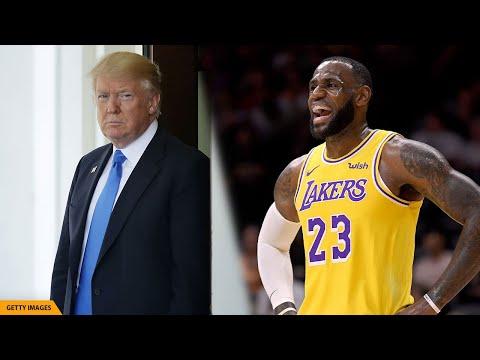 Lakers Win NBA Championship, Trump Calls 'Nasty' LeBron James A Hater