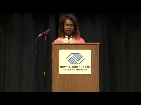 Charity Modi, 2015 Boys & Girls Clubs of Central Minnesota's Youth of the Year
