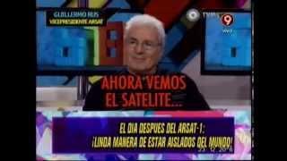 EL DIA DESPUES DEL LANZAMIENTO DEL SATELITE - 17-10-14