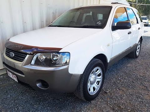 Automatic Ford Territory SUV 2005 For Sale