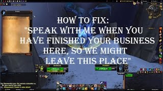 How to fix the Thunderfury Hidden Appearance quest Bug