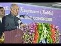 President Kovind addresses valedictory function of 32nd Indian Engineering Congress